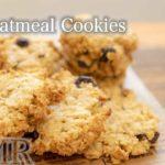 混ぜるだけで簡単!オートミールクッキーの作り方 ダイエット中のおやつに グルテンフリー / Oatmeal Cookie Recipe (Gluten Free) ASMR   Oyatsu Lab.