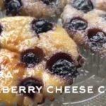 【ダイエット】簡単!おからパウダーで低糖質ブルーベリーチーズケーキ風!ベーキングパウダーなし!ヨーグルトでまぜるだけ。How to make Okara blueberry cheese cake.