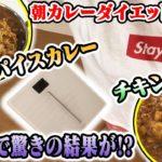 【朝カレー×ダイエット】カレーダイエットが終わりました。やってみたら意外な結果に!?