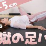 【毎日13分】地獄の脚パカとストレッチでみるみる脚が細くなる!寝たままOK