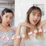 姉妹の毎日メイク❤️💛|Sisters Everyday Makeup Easy&Fast
