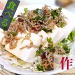 【簡単レシピ】ダイエットに最適な梅じゃこドレッシングの作り方【調味料】