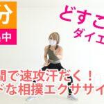 【10分】相撲スクワット・エクササイズ 運動【足腰筋トレ】自宅で簡単 ダイエット効果[10min dairy squat exercise program at home]