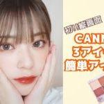 【プチプラ】CANMAKE3つ使ったアイメイク【メイク初心者も簡単】