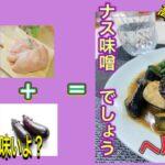 《超簡単ヘルシー》ムネ肉レシピ 糖質制限中でもOK ムネ肉のナス味噌 今晩どうよ?