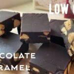 【ダイエット】焼かない!材料4つで超簡単!低糖質チョコレートキャラメル作ろう!ガツンとうまい!濃厚で香ばしい Low carb Chocolate nuts caramels