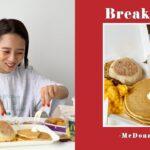 【朝マック】超簡単!ただ並べるだけでお洒落な朝ごはんの完成🍟