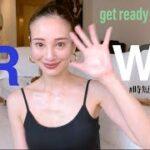 【GRWM】時短普段メイク💄10分でササっと変身✨誰でもマネできる30代モデルの簡単顔面身支度。