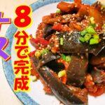 【韓国料理】ナスキムチレシピ|食物繊維たっぷりのなすキムチ|簡単に旬のキムチレシピ|ダイエットに良い茄子キムチレシピ