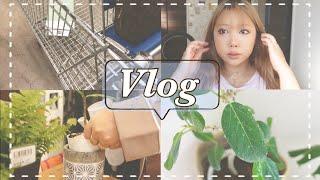 【ある日のVlog】IKEA行って沢山植物増えたし新しいアイシャドウ可愛くてテンションあがる