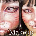 【ハロウィン】🐱中顔面を短くプチプラで簡単に猫メイク【Halloween】