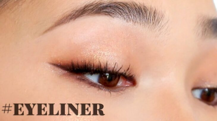 【海外メイク】今海外でトレンドのアイライナー!裏ワザを紹介!| Perfect Winged Eyeliner For  Hooded Eyes