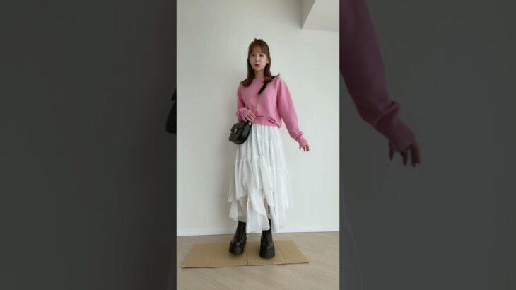 6日間のコーデ紹介👠💛 #Shorts