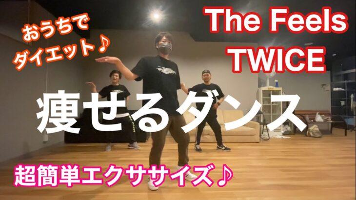 The Feels/TWICEに合わせて簡単ダンスエクササイズ♪楽しみながらダイエットしよう!zumba(ズンバ)などのウォーミングアップにも!easy dance exercise